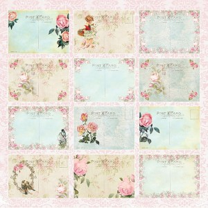 Papier do scrapbookingu 30x30cm - Beautiful Day 07